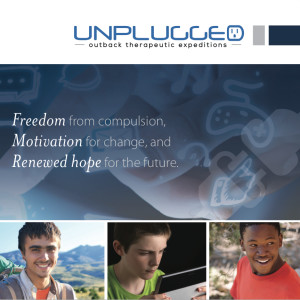 Outback Unplugged electronics addiction brochure cover