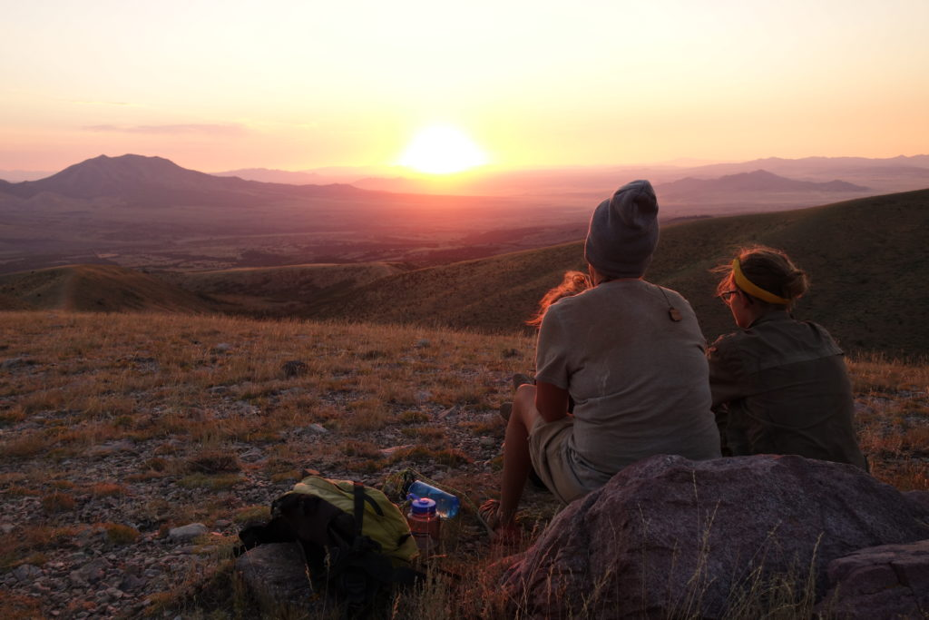 Outback Therapeutic Expeditions -Sunset